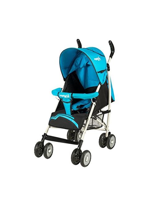 Crystal Baby Crystal Baby 207 Newa Baston Bebek Arabası Mavi